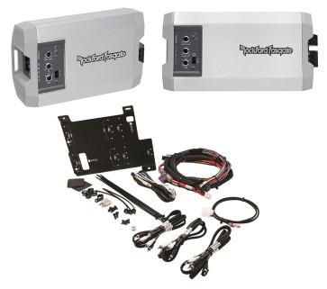Rockford Fosgate RFRZ-K4D Polaris RZR 2//4-seat Power Installation Kit