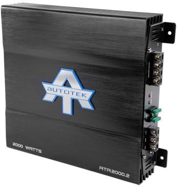 New Autotek ATA2000 2 2000 Watt 2 Channel Amplifier Car