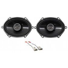 1993-1995 Lincoln Mark VIII Front Hifonics Factory Speaker Replacement Kit