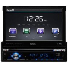 "SSL SD726MB Single-Din 7"" In-Dash DVD Receiver w/Bluetooth USB/SD/AUX + Camera"