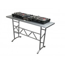 Odyssey ATT Portable Aluminum Truss Table for Mobile DJ w/ Diamond Pattern Top