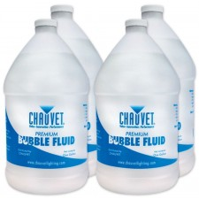 (4) Chauvet BJU (4) Gallons Of Bubble Juice Fluid BJ-U