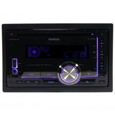 Kenwood DPX308U Double Din CD/MP3 Player AM/FM Receiver W/ USB + Ipod Interface