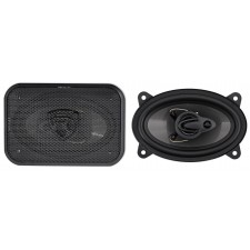 "Pair Rockville RV46.3A 4x6"" 3-Way Car Speakers 500 Watts/70 Watts RMS CEA Rated"