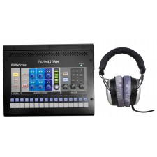 PRESONUS EarMix 16M 16x2 16-Channel AVB Monitor Mixer+Beyerdynamic Headphones