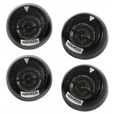 """(4) Kenwood KFC-ST01 1"""" 4-Ohm Component Car Dome Tweeters Totalling 320 Watts"""