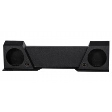 "Xcab High Transmission Dual 10"" Sealed Subwoofer Sub Box For 2007-2013 GMC/Chevy"