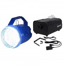 American DJ Big Shot LED II Compact LED Strobe Light+ADJ Fog Machine w/ Remote