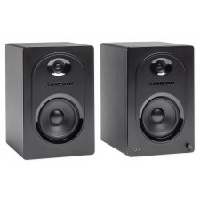 """Pair Samson M50 5"""" Gaming Twitch Streaming Computer Speakers Monitors"""