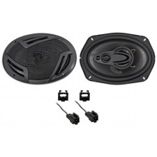 """Rockville 6x9"""" Rear Factory Speaker Replacement Kit For 2001-2006 Dodge Stratus"""