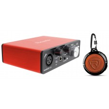 Focusrite SCARLETT SOLO 2nd Gen 192 KHz USB 2.0 Audio Interface+Speaker