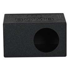 "Rockville RQB8 Single 8"" Side Ported Subwoofer Sub Box Enclosure w/Bed Liner"