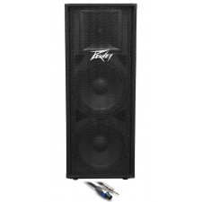 """Peavey PV215 Dual 15"""" Inch Passive PA Speaker +FREE Speaker Cable"""
