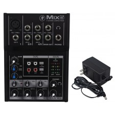 Mackie Mix5 Compact 5 Channel Mixer Proven High Headroom Low Noise Clarity