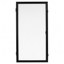 "Odyssey SWF2446B-2 Scrim Werks 24"" x 46"" Inch Add-On Panel Mobile DJ Facade"