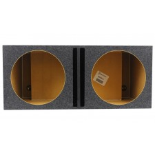 "Rockville Vented Sub Box Enclosure For 2 Rockford Fosgate P3D2-15 15"" Subwoofers"