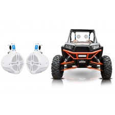 "(2) Rockville RWB80W 8"" Rollbar Tower Speakers for Polaris/ATV/UTV/RZR/Jeep"