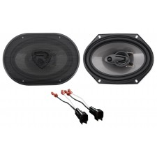 """1999-2002 Lincoln Navigator Rockville 6x8"""" Front Factory Speaker Replacement Kit"""