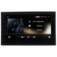 "Rockville AN7 2 Din 7"" Android Car Receiver MirrorLink/Navigation/Bluetooth/Wifi"