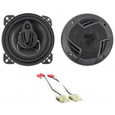 "4"" Rockville Door Speaker Replacement Kit For 1984-1991 Cadillac Seville"