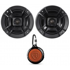 "(2) Polk Audio DB522 5.25"" 600w Car/Marine/Motorcycle Speakers+Speaker"