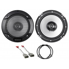 """Front 6.5"""" Kenwood Factory Speaker Replacement Kit For 2003-2007 Honda Accord"""