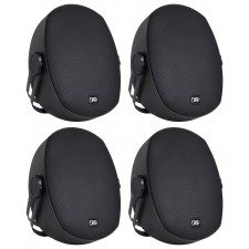 "4 Peavey Impulse 5c Indoor/Outdoor 5"" Speakers 4 Restaurant/Bar/Home/Patio-Black"
