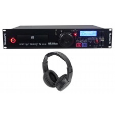 Numark MP103USB Professional Rack Mount DJ CD/MP3 Player w/USB Input+Headphones