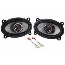 "Jeep Wrangler Yj 87-95 Crunch 250w 4 x 6"" Front Factory Speaker Replacement Kit"