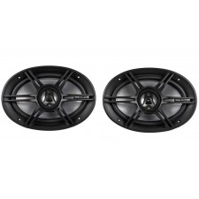 RE Audio REX6.9 6x9 200Watt 3-Way Full Range Coaxial Car Audio Speakers REX69