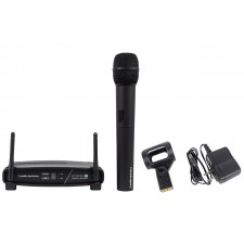 Audio Technica ATW-1102 System 10 Wireless Microphone System w/ Handheld Mic