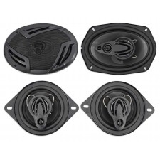 "(2) Rockville RV69.4A 6x9"" 1000w 4-Way Car Speakers+(2) 3.5"" 200w 3-Way Speakers"