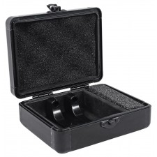 Odyssey KCC2PR2BL KROM PRO2 2x Turntable Needle Cartridge Hard Travel Case Black