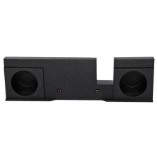 "Dual 10"" Sealed Subwoofer Sub Box Enclosure For 04-08 Ford F150 Xcab SuperCrew"