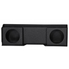 "1999-2006 GMC/Chevy Xcab Dual 10"" Downfire Sealed Subwoofer Sub Box Enclosure"