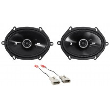 """1995-1997 Ford Explorer Kicker 6x8"""" Front Factory Speaker Replacement Kit"""