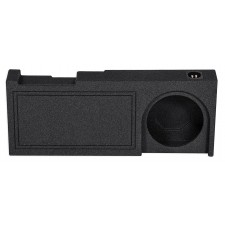 "2014-2015 GM/Chevy Crew Cab Single 10"" Vented Ported Subwoofer Sub Box Enclosure"