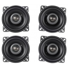 "(4) MB QUART FKB110 4"" 160 Watt Car Stereo Coaxial Speakers"