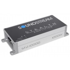 Soundstream ST2.1000D 1000w 2-Channel Amplifier Amp For Polaris RZR/ATV/UTV
