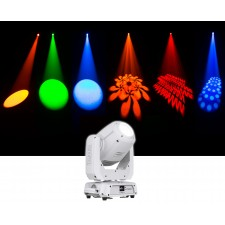 Chauvet DJ Intimidator Spot 375Z IRC 150w LED Moving Head Light w/ Zoom - White