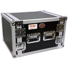 "Pro X T-8RSS 8U Space Vertical DJ 19"" Flight Rack Case ATA 300"
