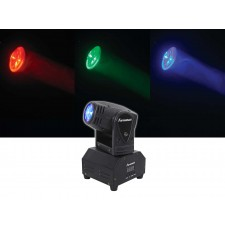 FARENHEIT FH10MH Compact DMX LED Moving Head Beam Club Stage Party Light