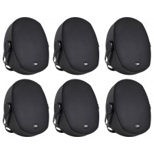 "6 Peavey Impulse 5c Indoor/Outdoor 5"" Speakers 4 Restaurant/Bar/Home/Patio-Black"