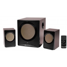 Rockville ROCK MEDIA Bluetooth Home Theater Speaker System+Sub USB/SD/FM+Remote