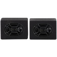 "(2) Polk Audio DB692 6X9"" 450 Watt Car Audio Speakers+Sealed Speaker Enclosures"
