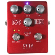BBE Two Timer Analog Delay Electric Guitar Pedal Stomp Box Effect