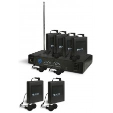 Nady ALD-800 BB Monitor System With 6 Receivers + 6 Pairs of Ear Buds