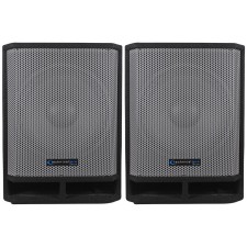 "(2) Technical Pro THUMP15 Thump 15"" 2600w Passive DJ Carpeted Subwoofers PA Subs"