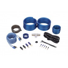 Rockville RWK41 4 Gauge Complete Car Amp Wiring Installation Wire Kit w/RCA's