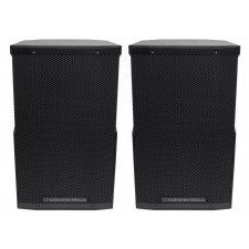 "(2) Cerwin Vega CVE-10 1000 Watt 10"" Powered DJ PA Speakers w/ Bluetooth, DSP"
